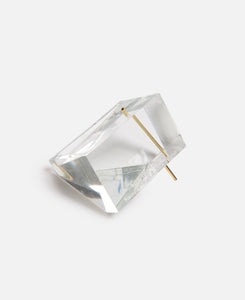 Clear Polygon Incense Burner