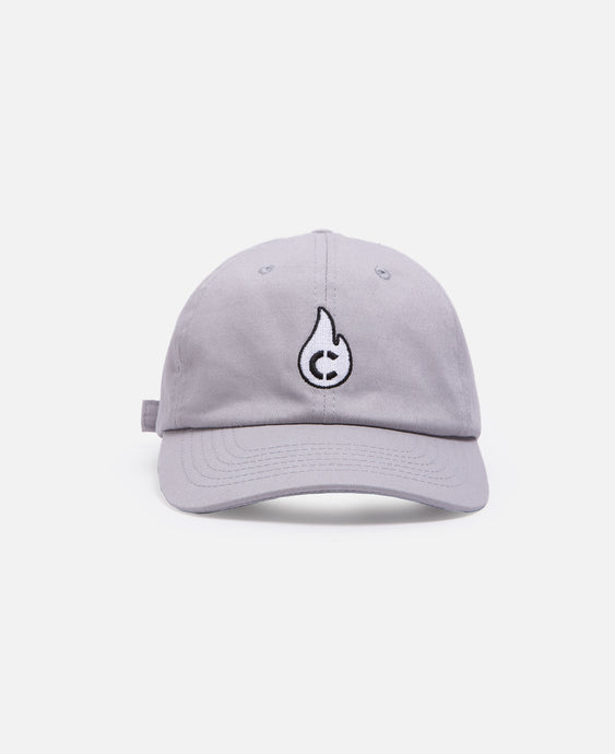Flame C Cap (Grey)