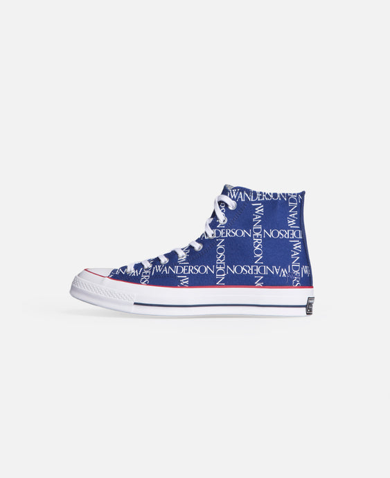 Chuck 70 Hi (Blue  Twilight Blue, White & Black)