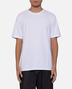 Washed Heavy Weight Crew Neck T-Shirt (Type-5) (White)