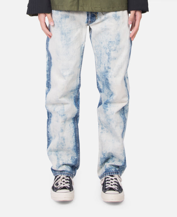 Washed Denim Jeans (Bleached)