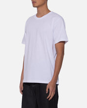 Over Size Crew Neck T-Shirt (Type-3) (White)
