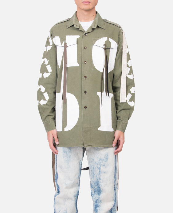 Military Ribbon Shirt