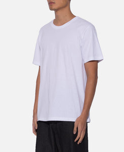 Over Size Crew Neck T-Shirt (Type-4) (White)