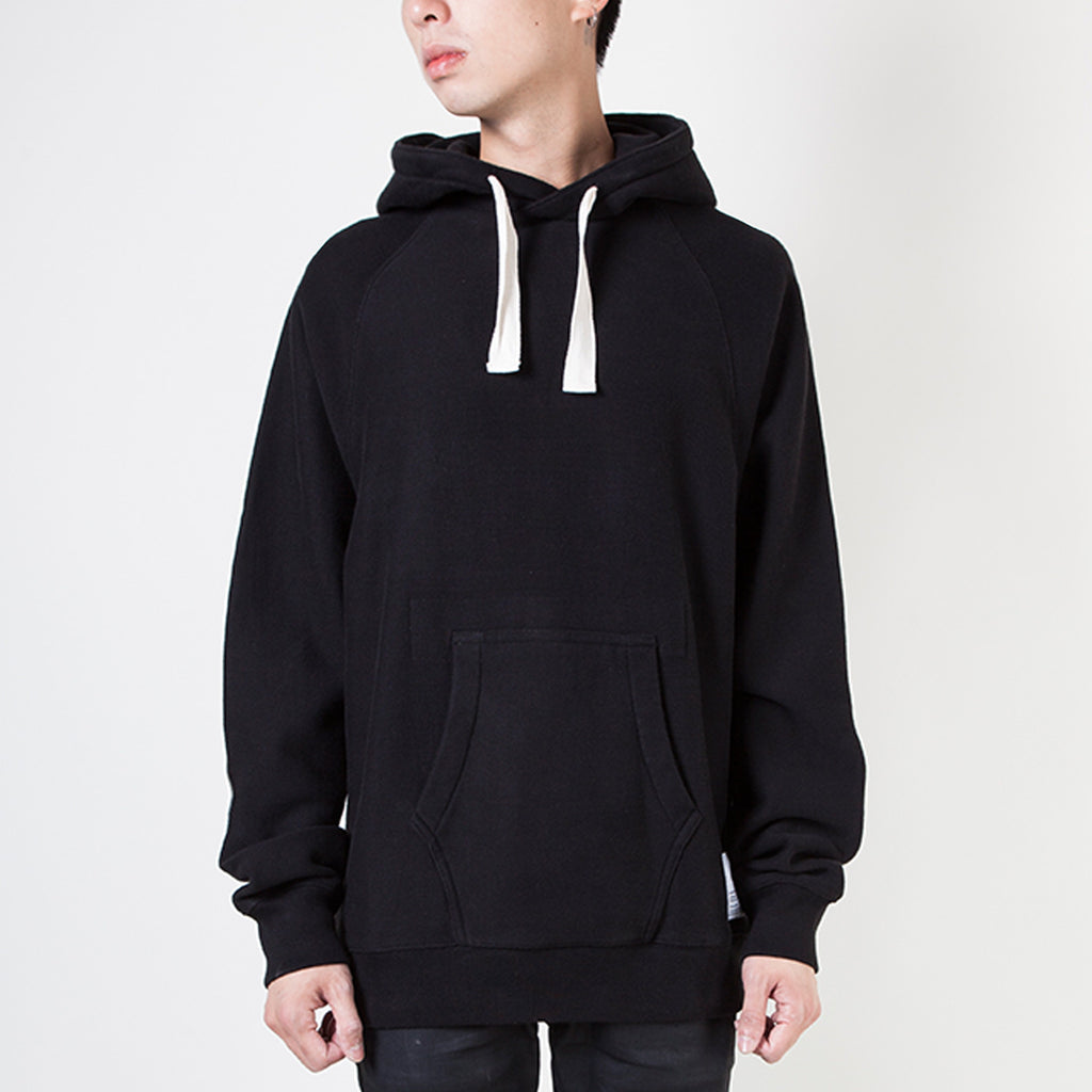 VINTAGE POCKET HOODY (BLACK)