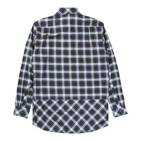 ROWN DRAWCORD SHIRT (NAVY)