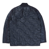 RAEBUR QUILTED SHORT JACKET (NAVY)