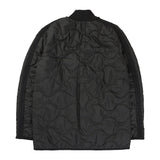 RAEBUR QUILTED SHORT JACKET (BLACK)
