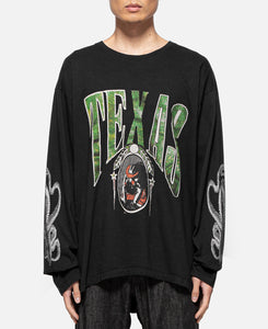 Texas L/S T-Shirt (Black)