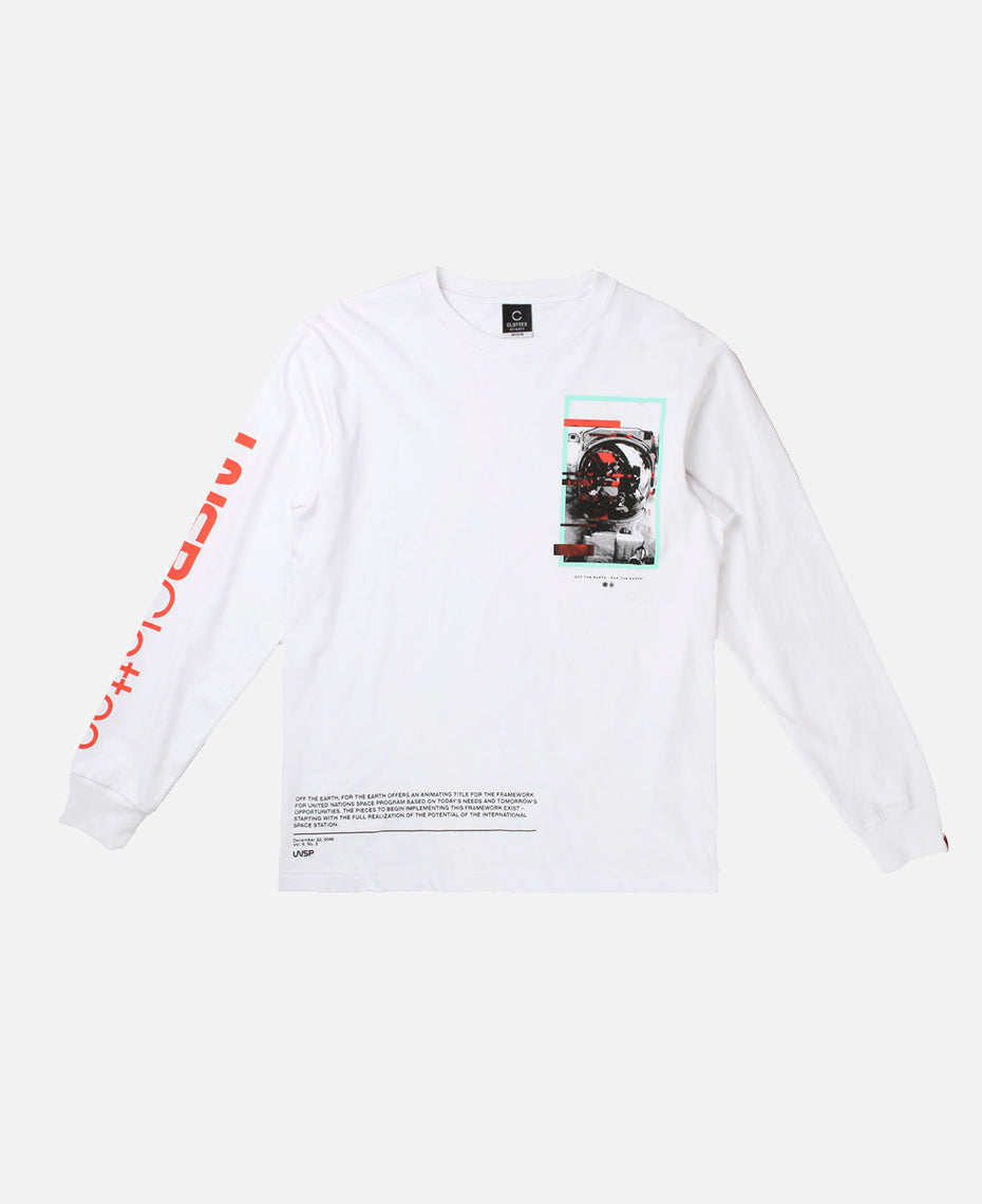 MISSION L/S TEE (WHITE)