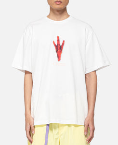 Chicken Foot S/S T-Shirt (White)