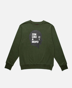 CLOT Head Crewneck (Green)