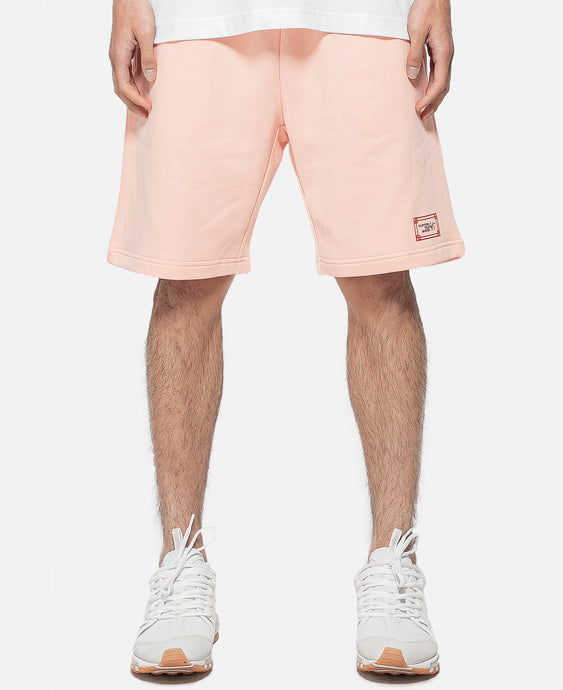Stamp Sweat Short (Pink)