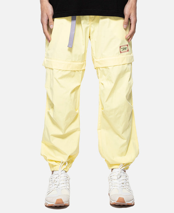 Zip Off Pants (Yellow)