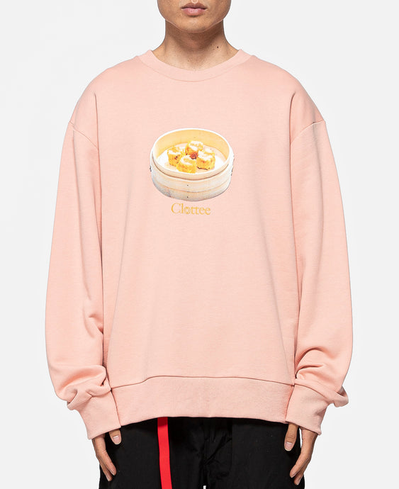 Siu Mai Crewneck Sweat (Pink)