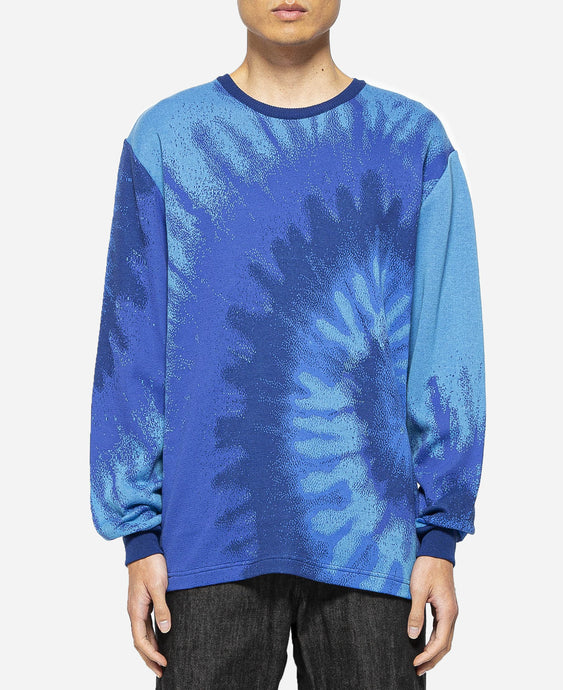 Tie-dye JQ Sweater (Blue)