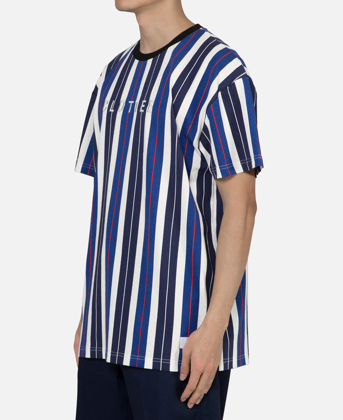 Printed Stripe Tee