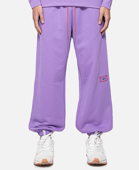 Stamp Sweatpants (Purple)