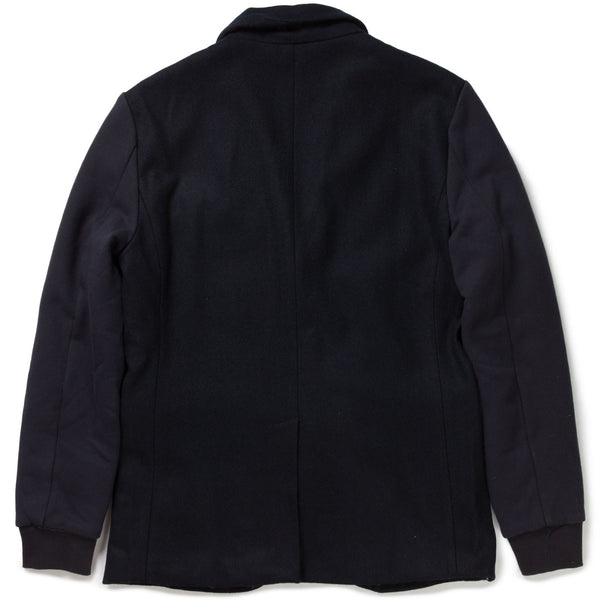 SUIT JACKET W/ FLEECE SLEEVES