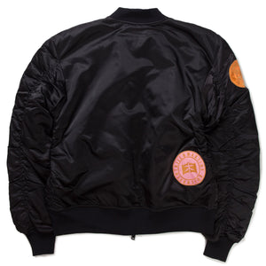 BE BOMBER NYLON JACKET