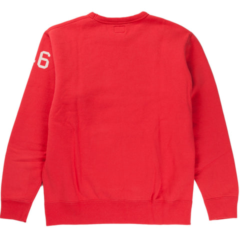 TRIPLE TROUBLE SWEAT (RED)
