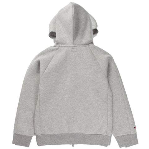 WORKADAY ZIP HOODIE (GREY)