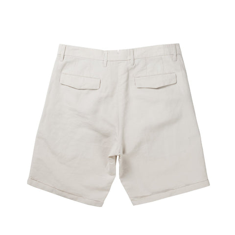 FENRIS SHORT CANVAS PANTS (WHITE)