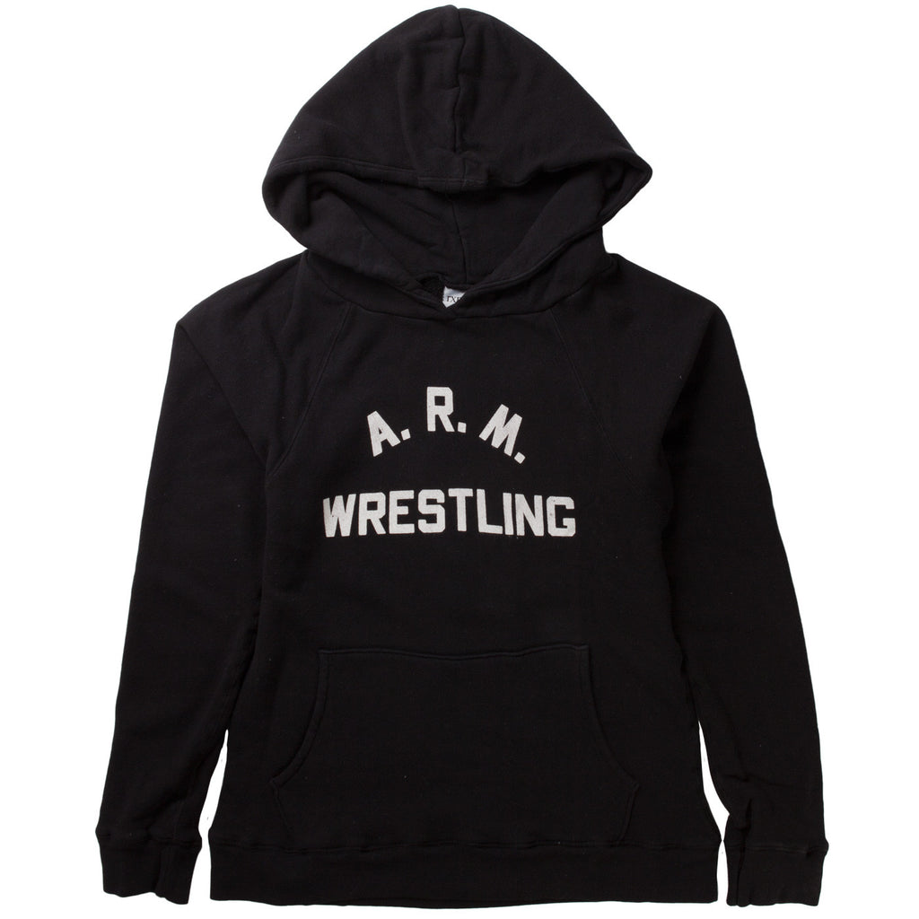 ARM WRESTLING HOODY (BLACK)