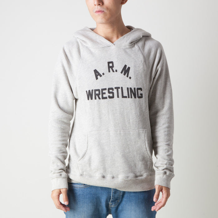 ARM WRESTLING HOODY (GREY)