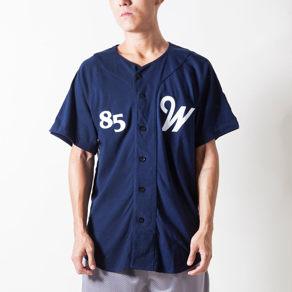 RBW 'AWAY' BASEBALL JERSEY (NAVY)