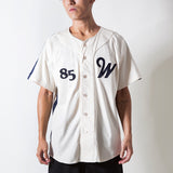 RBW 'AWAY' BASEBALL JERSEY (WHITE)