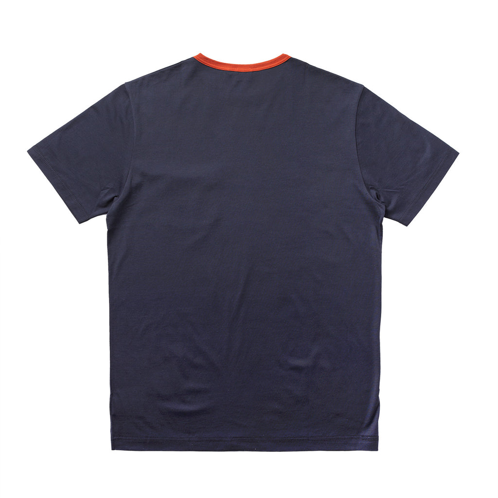 S/S CREWNECK T-SHIRT W/ CONTRAST POCKET