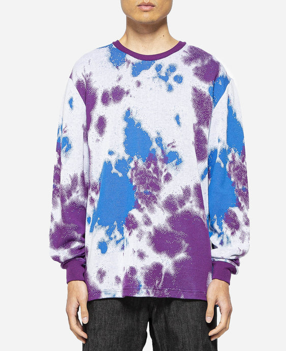 Marble Tie-dye JQ Sweater (Purple)