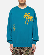Jacquard Tropical Pyramids Knit Pullover