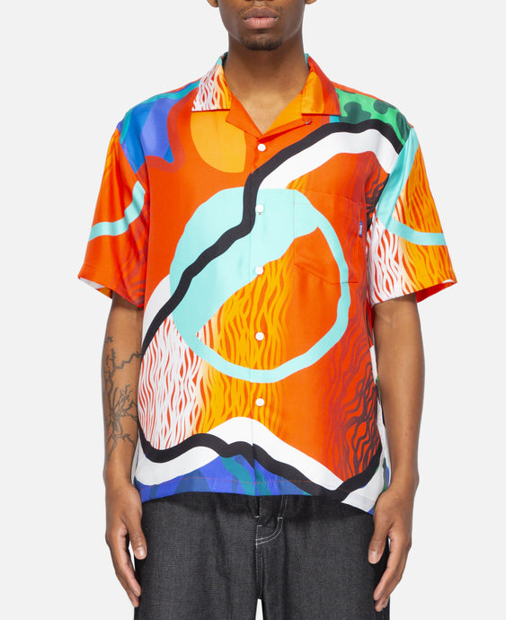 Sam Friedman Silk Shirt (Orange)