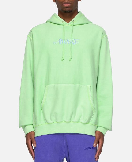 Classic Logo Embroidered Hoodie (Green)