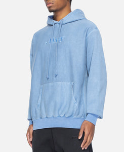 Classic Logo Embroidered Hoodie (Blue)