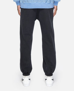Classic Logo Embroidered Sweatpants (Black)