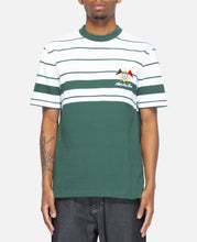 Embroidered Stripe T-Shirt (Green)