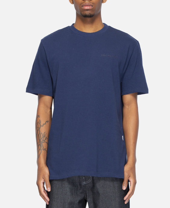 12 Oz S/S Logo T-Shirt (Navy)