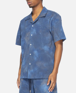 Spray Dye Leisure Shirt (Navy)