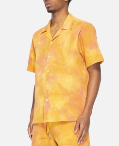 Spray Dye Leisure Shirt (Brown)