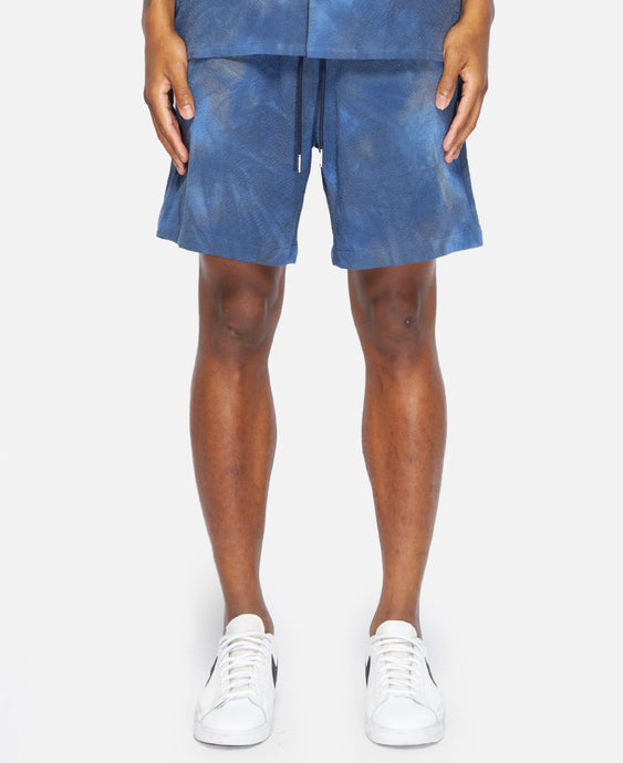 Spray Dye Leisure Short (Navy)
