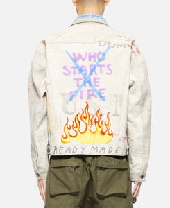 Oversize Work Jacket (White)
