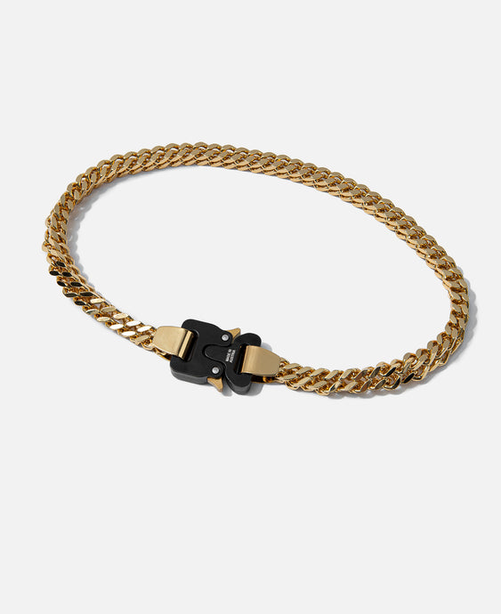 Cubix Chain Necklace (Gold)