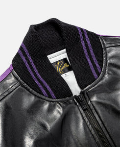 Award Jacket - Faux Leather (Black)