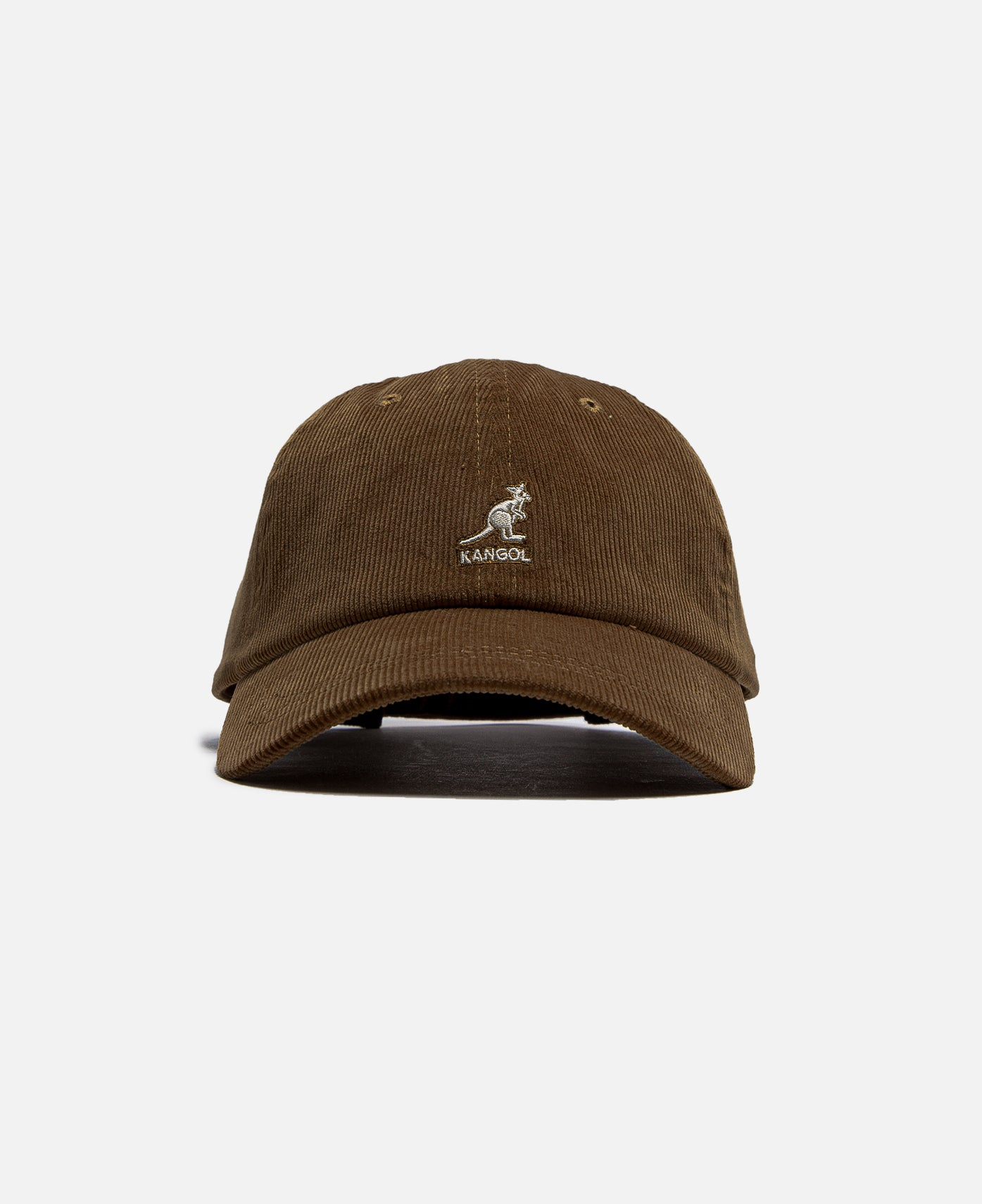 Cord Baseball Cap (Brown)