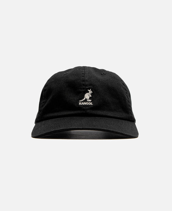 Washed Baseball Cap(Black)