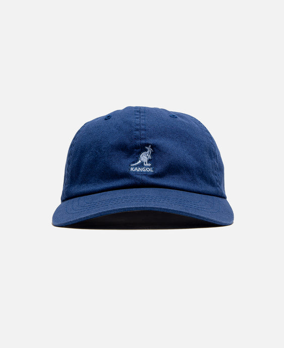 Washed Baseball Cap (Navy)