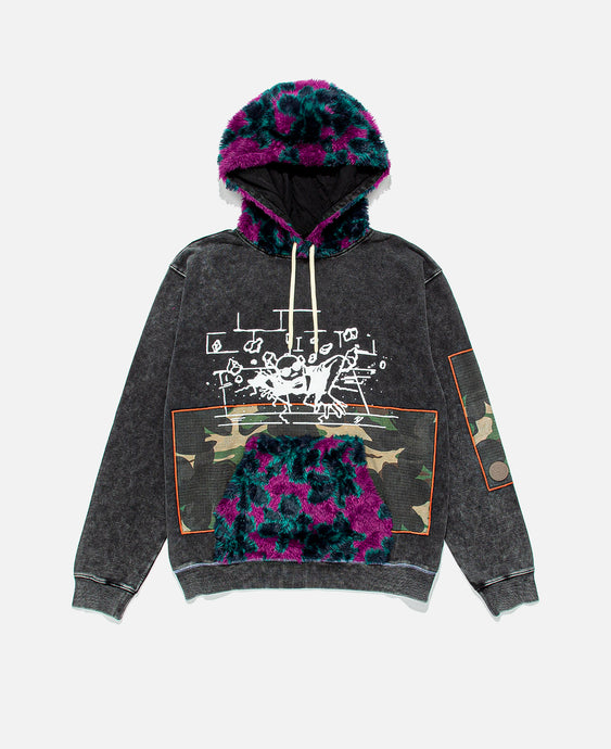 Deep Level Hoodie (Black)